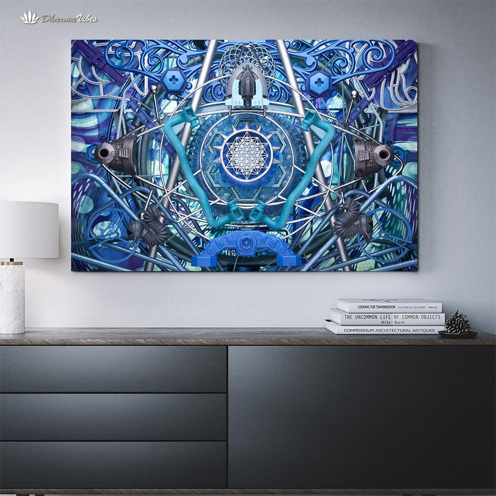 Water Dragon by LightWizard Visionary 1-Piece Canvas