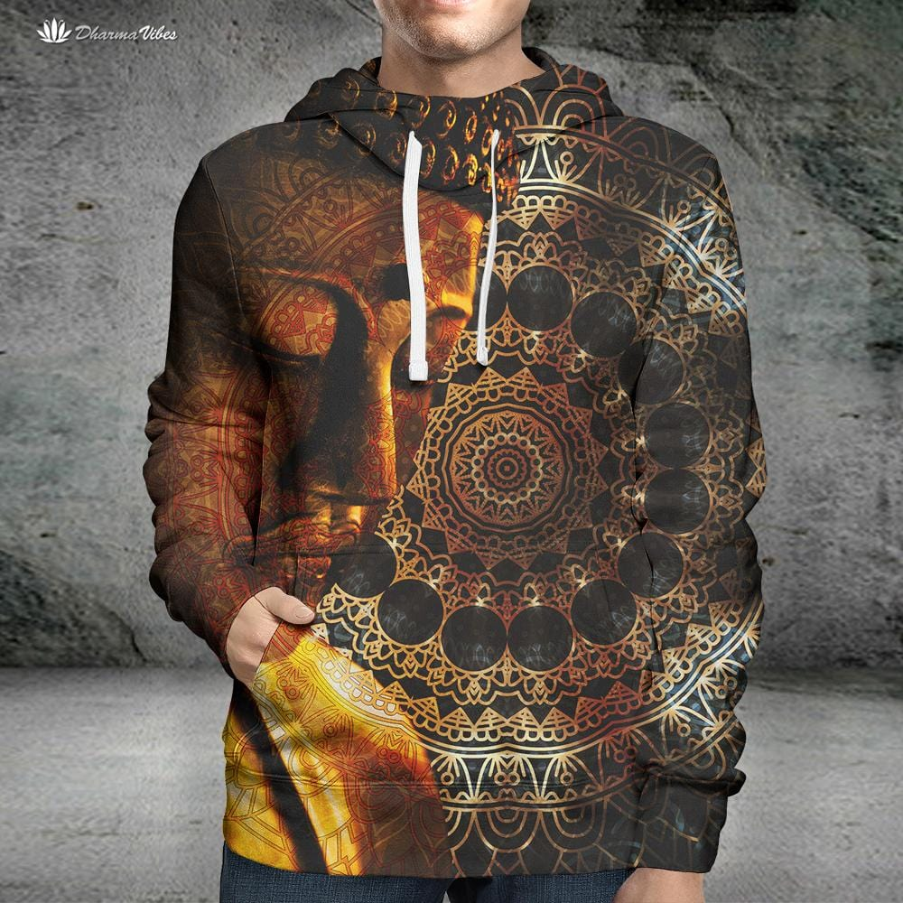 Buddha Tranquil by McAshe Hoodie