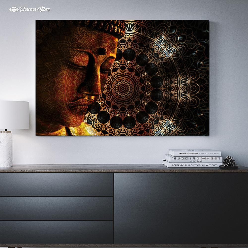 Buddha Tranquil by McAshe 1-Piece Canvas Art
