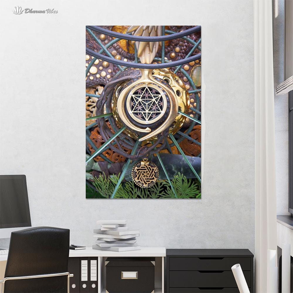 World Bridger by LightWizard Visionary 1-Piece Canvas