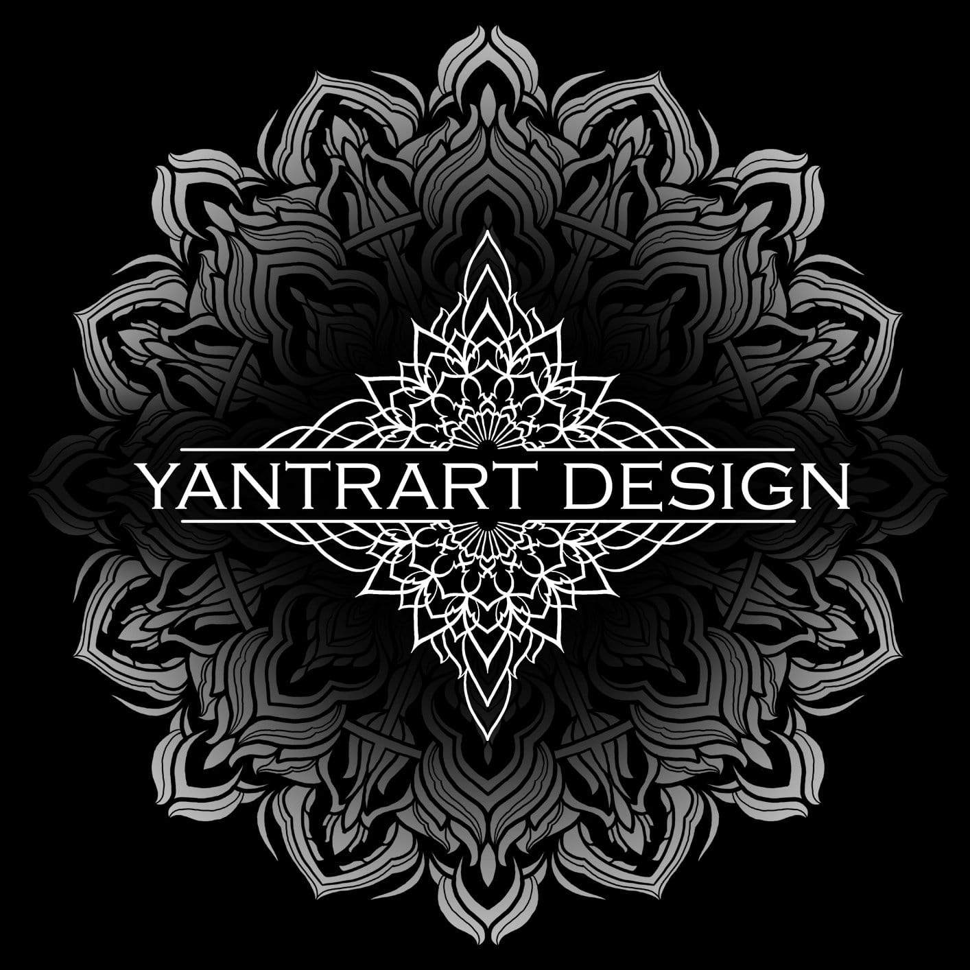 UNIVERSAL RESONANCE BW by YantrArt Design Hooded Blanket