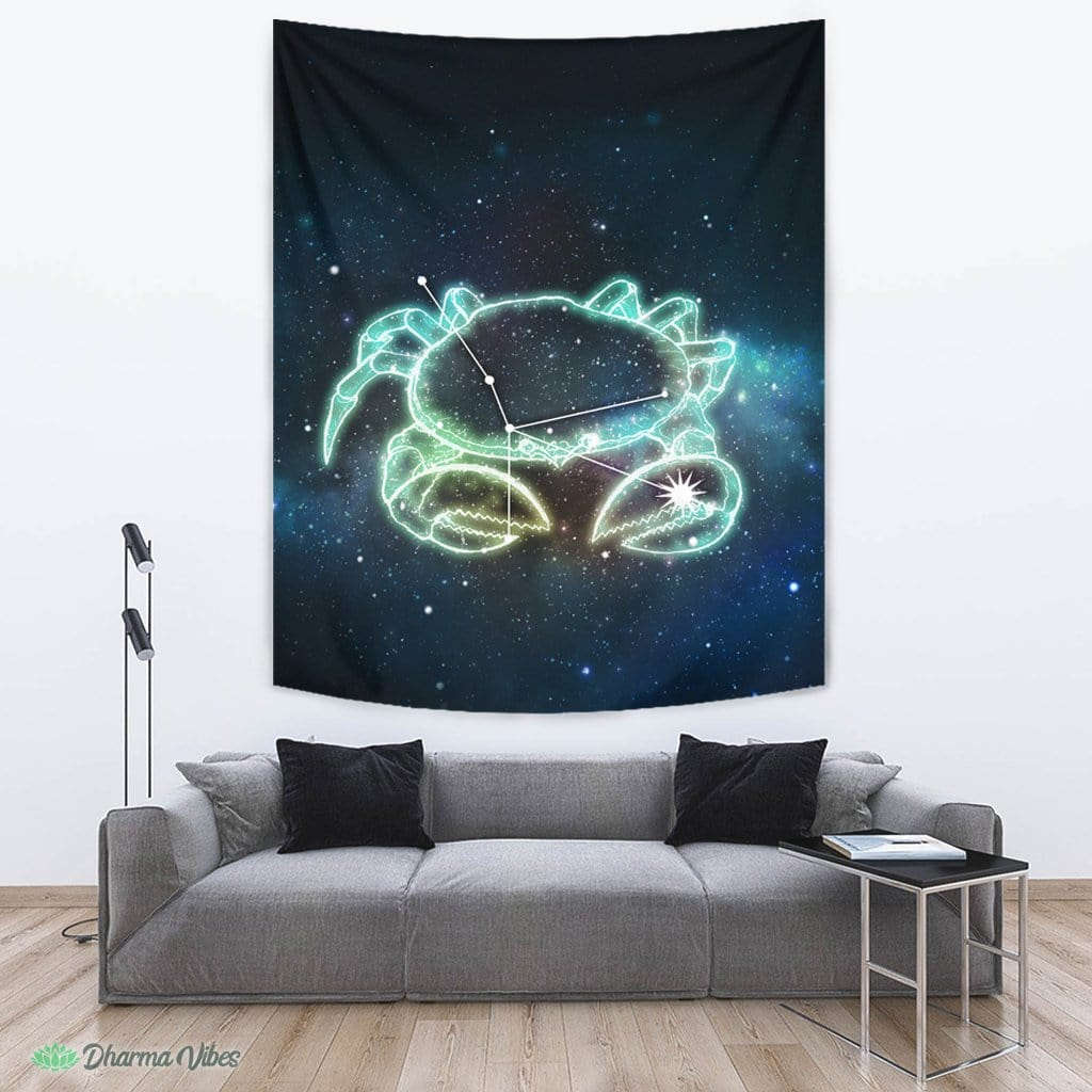 Cancer Zodiac by McAshe Tapestry