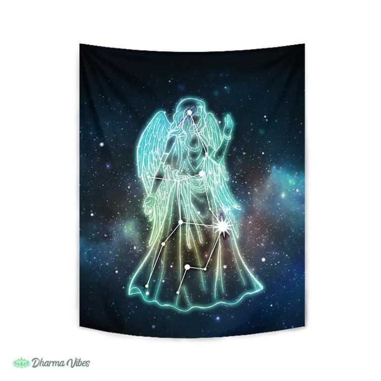 Virgo Zodiac by McAshe Tapestry