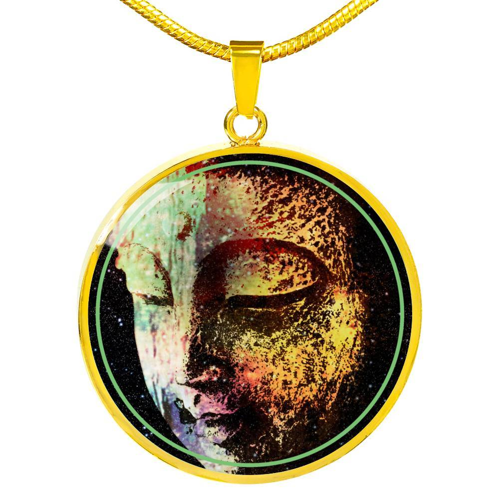 Buddha Galaxy by McAshe Luxury Necklace