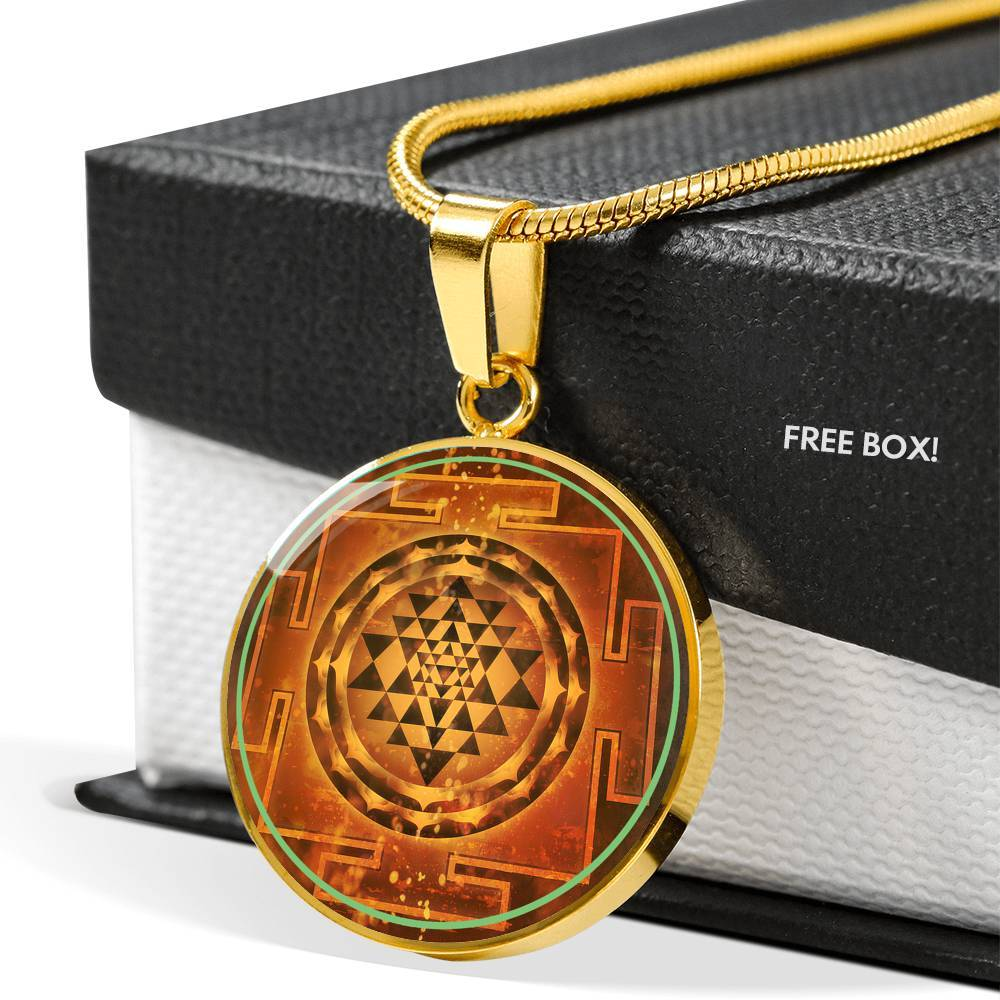 Sri Yantra by McAshe Luxury Necklace