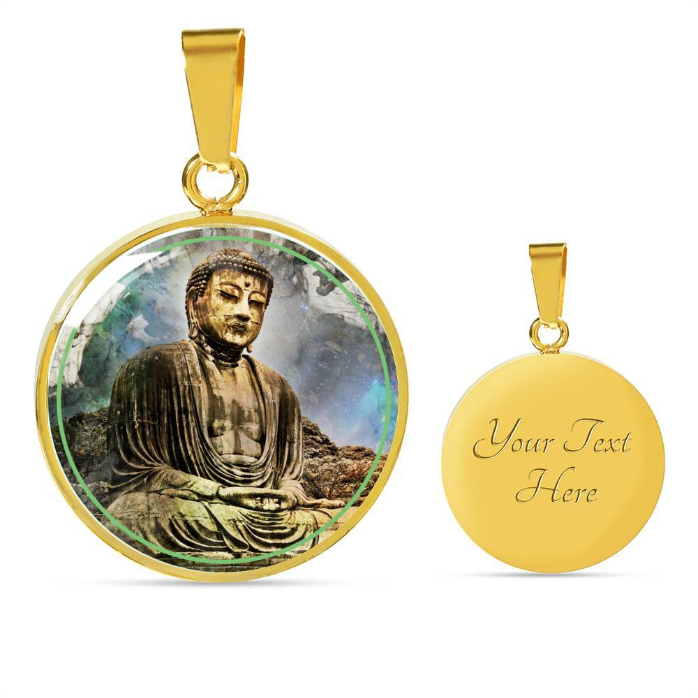 Buddha Enlightened by McAshe Luxury Necklace