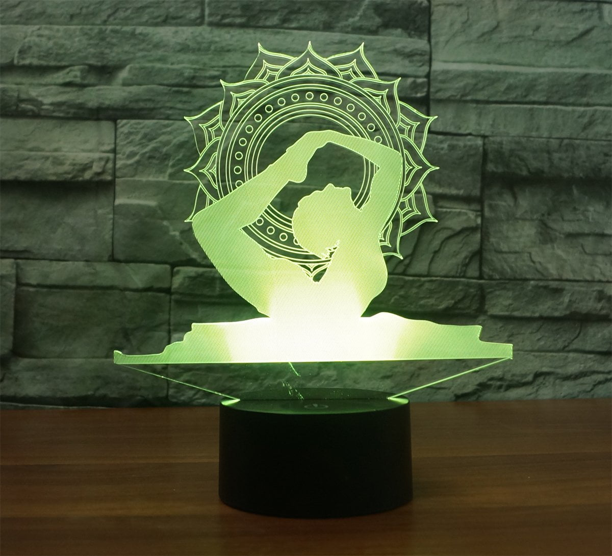 Yoga Multi-Color 3D Lamp