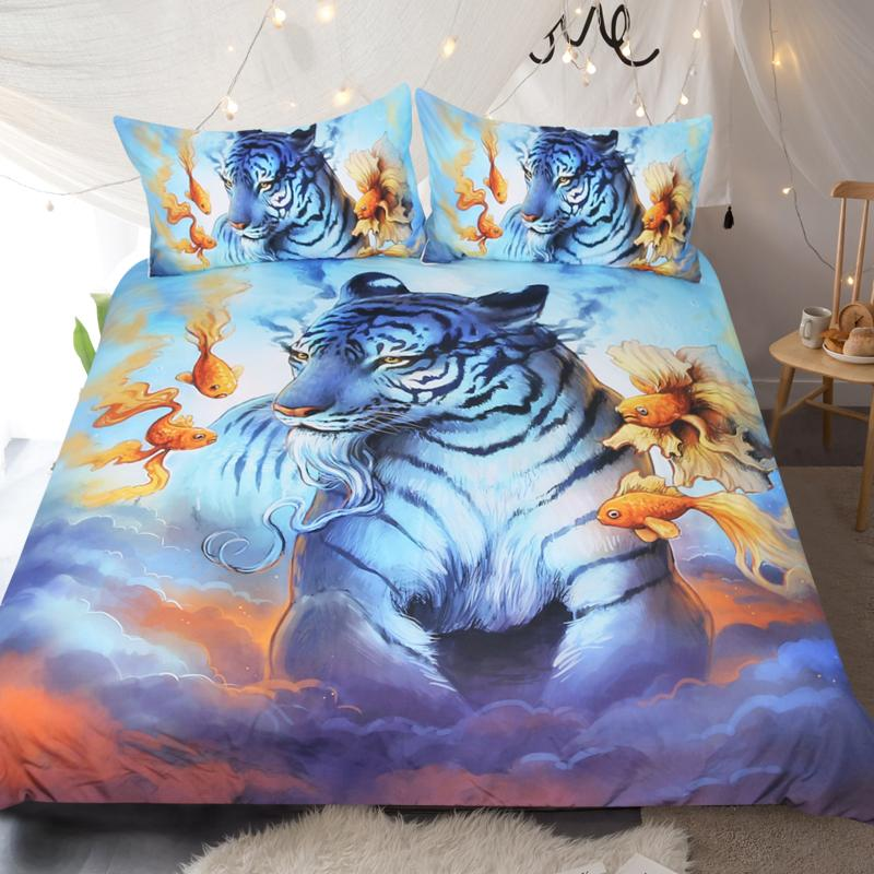 Dream by JoJoesArt Tiger Bedding Set