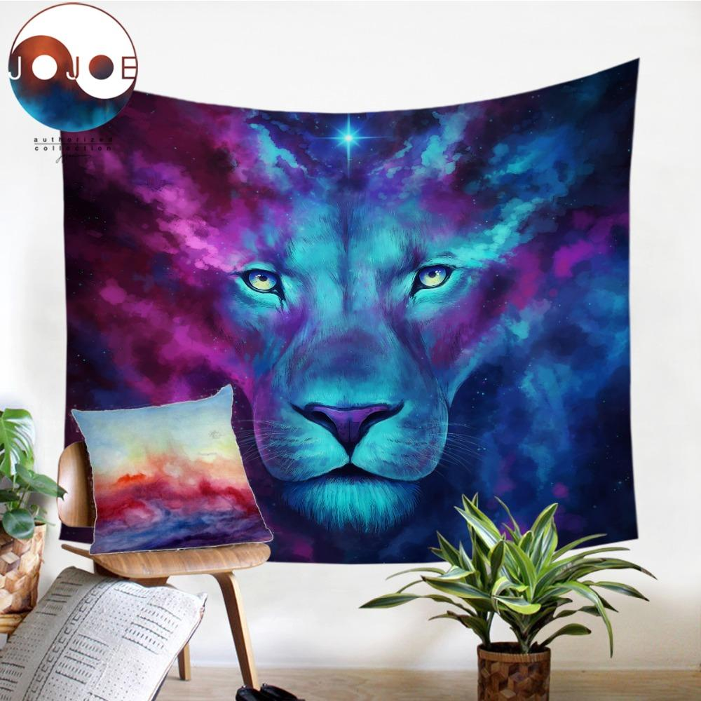 Firstborn by JoJoesArt Lion Tapestry
