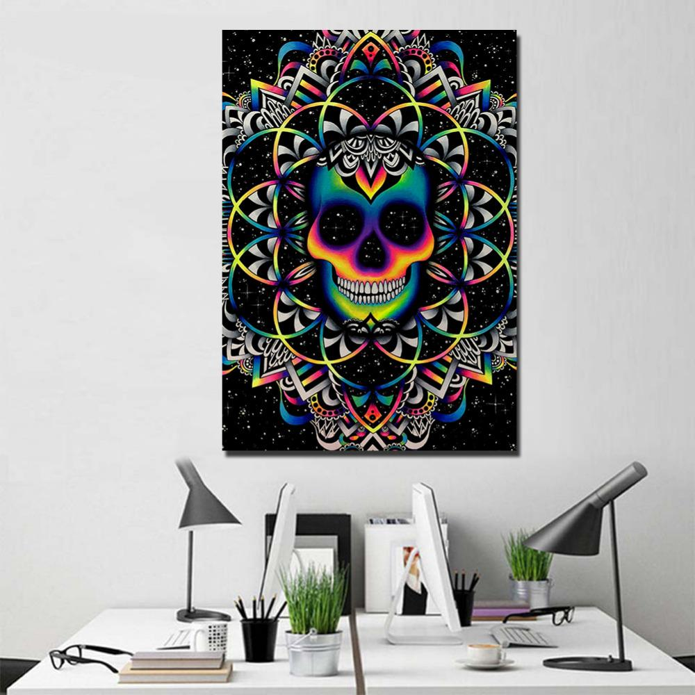 Chaos By Brizbazaar 1 PIece Canvas Painting