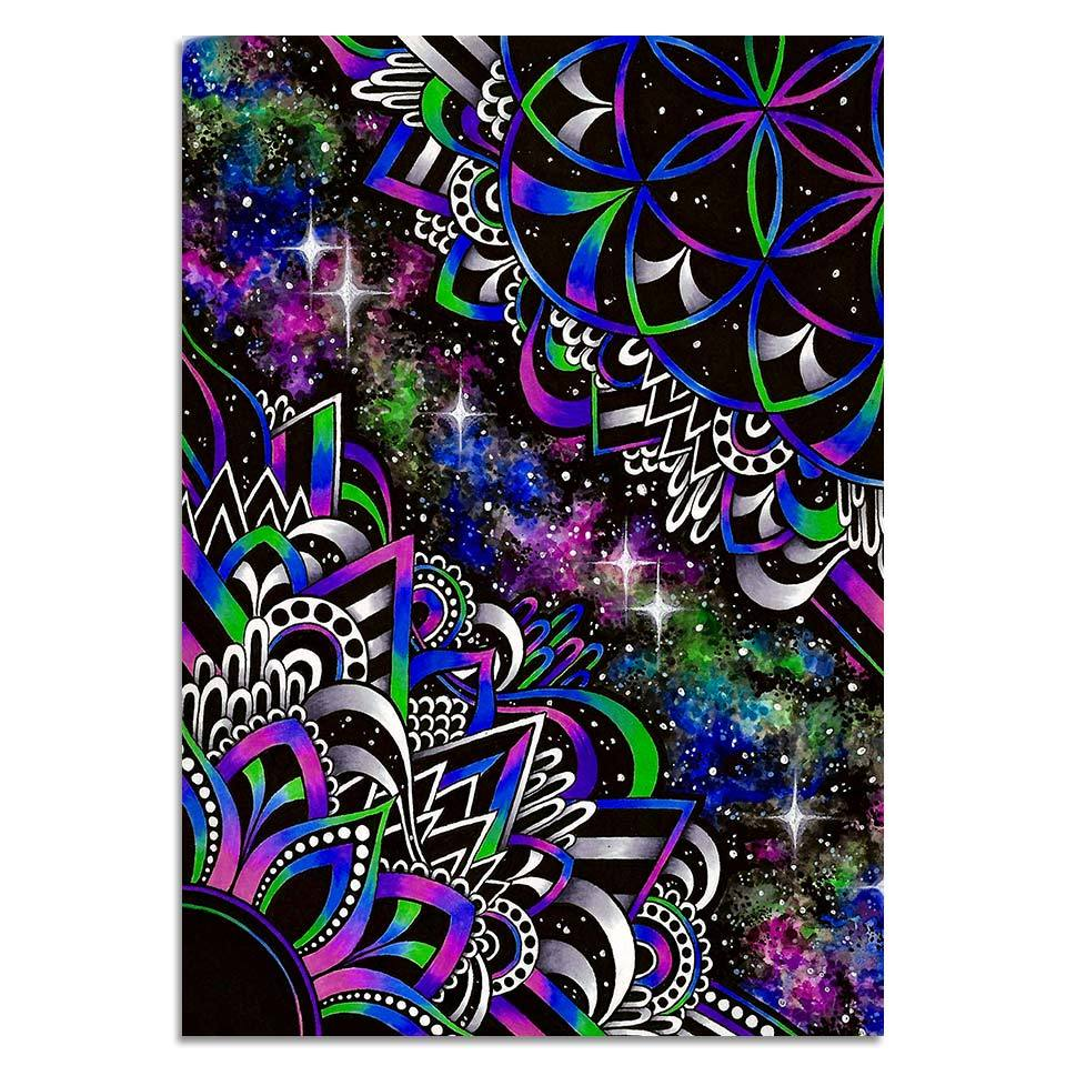 DoodleDream By Brizbazaar 1-Piece Canvas Painting
