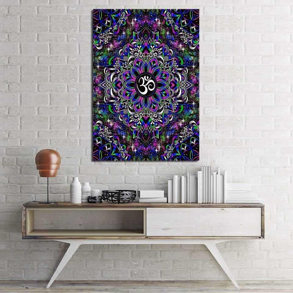 DreamyOm By Brizbazaar 1-Piece Canvas Painting