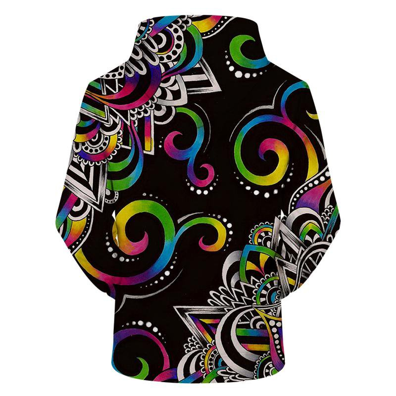 Doodle Magic By Brizbazaar (Mandala 3D Hoodie)