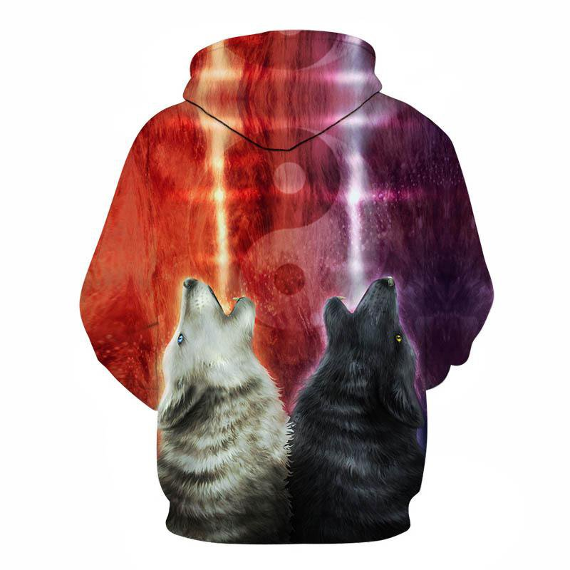 We wanna let the world know by KhaliaArt (Wolf 3D Hoodie)