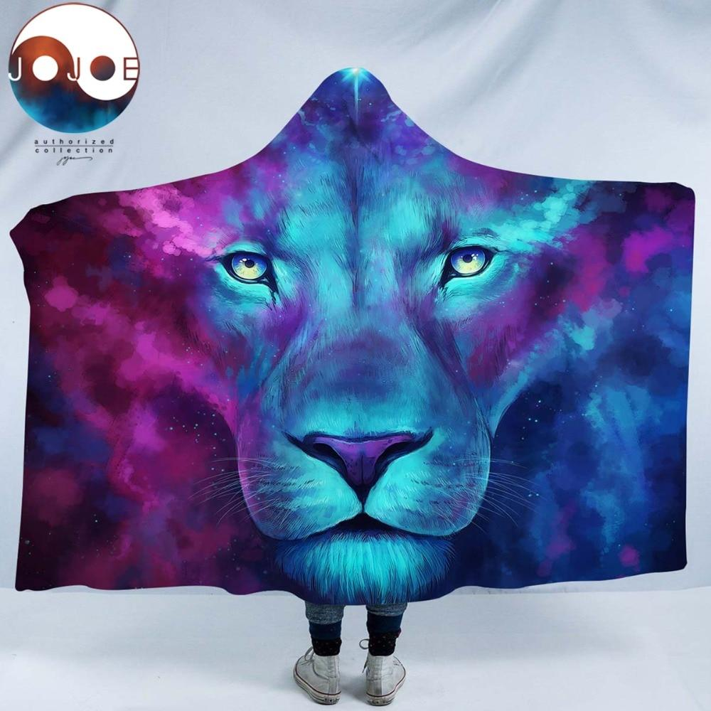 Firstborn by JoJoesArt (Lion Hooded Blanket)