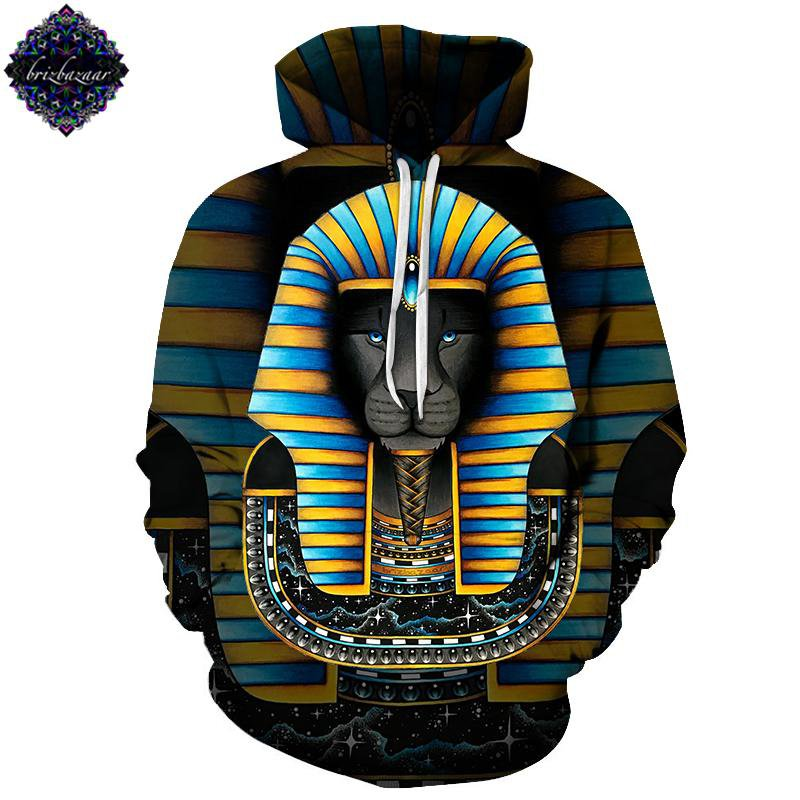 King By Brizbazaar (Egyptian 3D Hoodie)