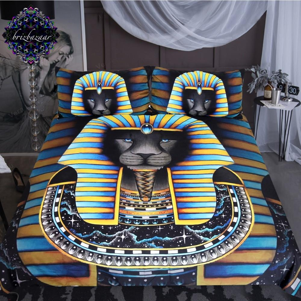 KING by Brizbazaar Lion Bedding Set