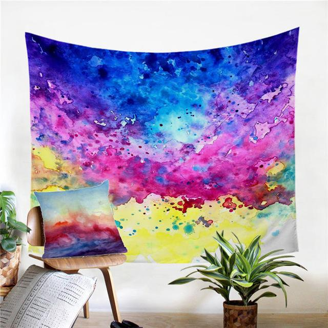 Colorful Vibez by Brizbazaar Tapestry