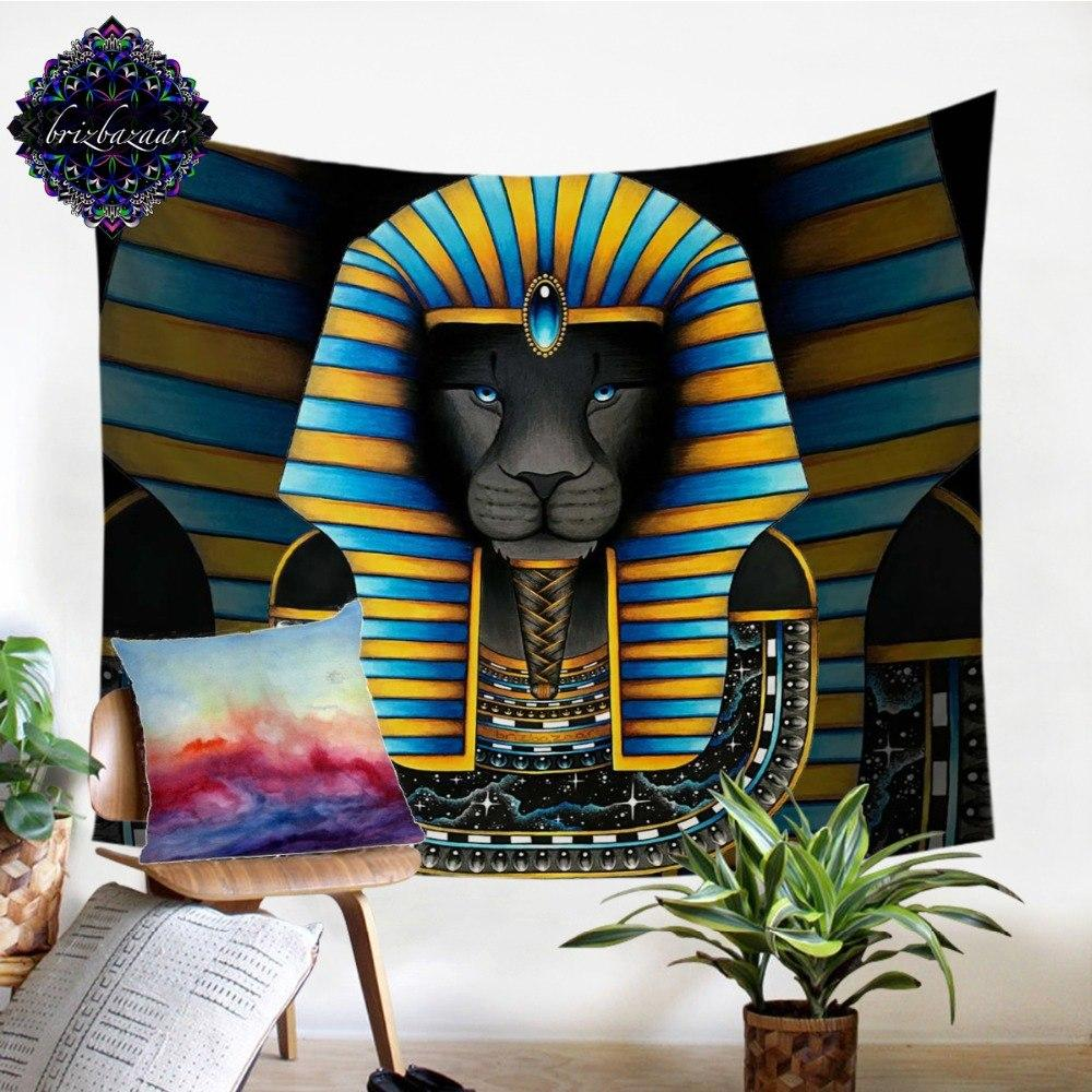 KING by Brizbazaar Egyptian Tapestry