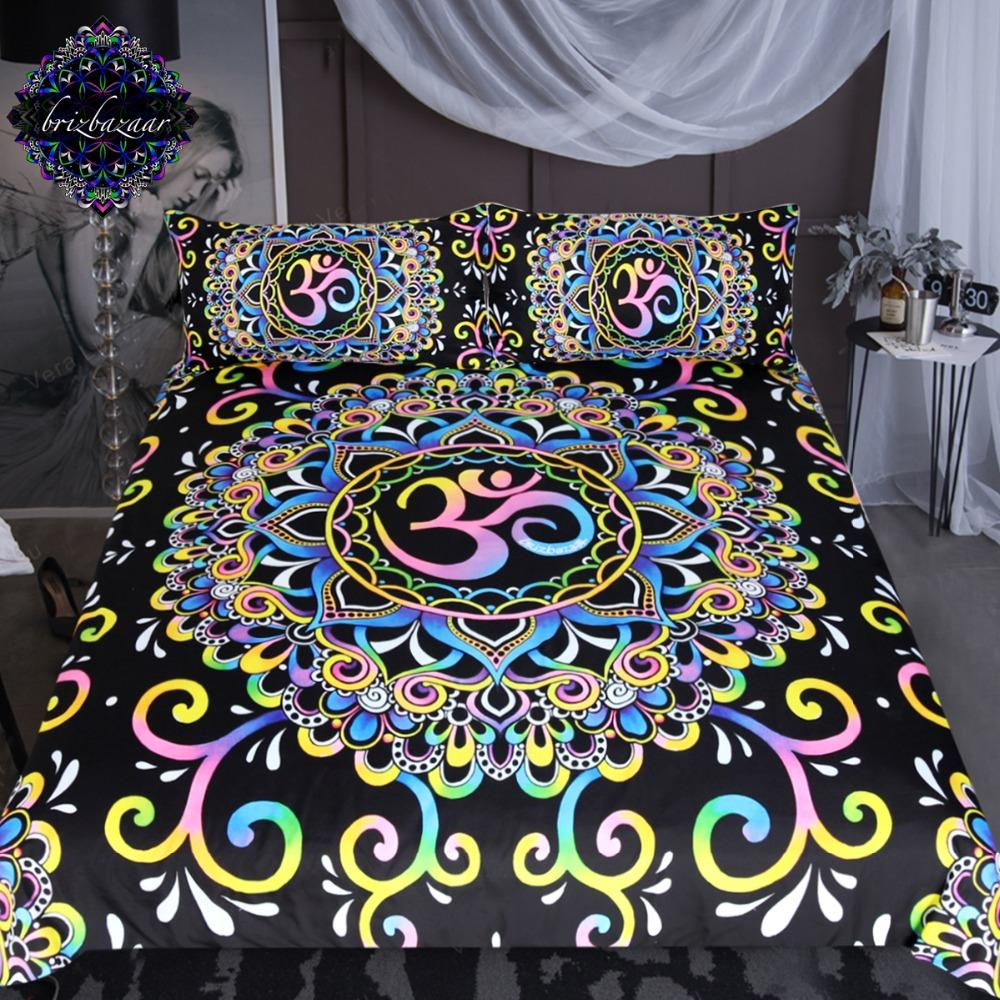 DoodleOhm by Brizbazaar Yoga Bedding Set