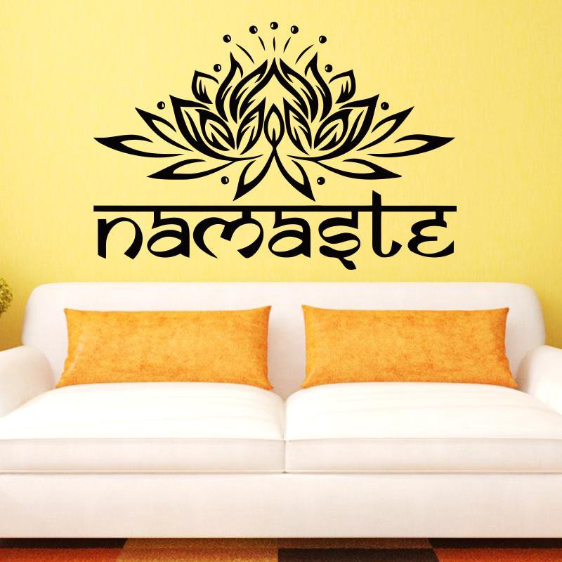 Namaste Wall Art Decal