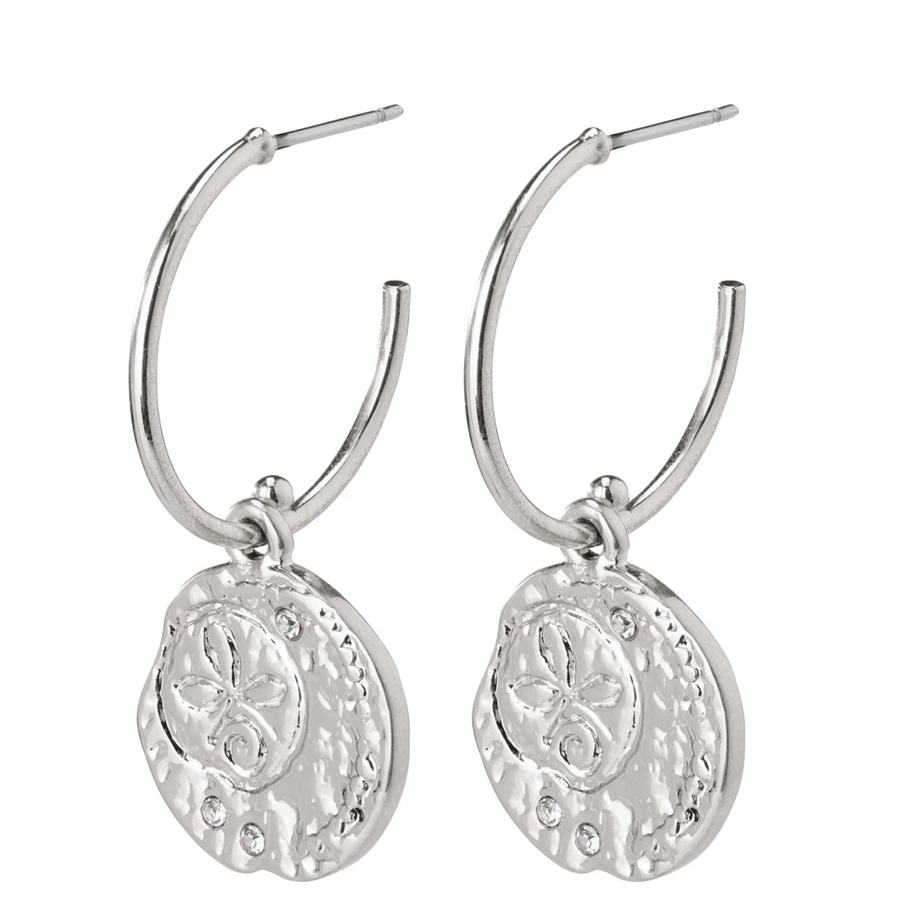 Warmth Earrings - Silver