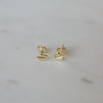 Swanning Studs- Gold