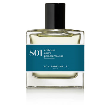 Eau de Parfum 801 - Sea spray, Cedar, Grapefruit