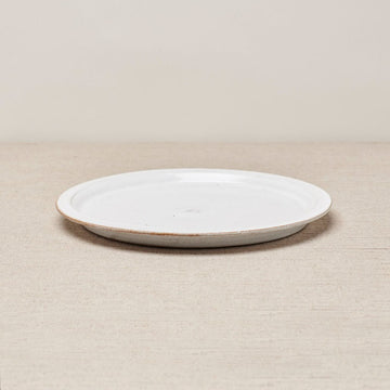 Cisco and the Sun Wibi Ceramic Plate Brushed White