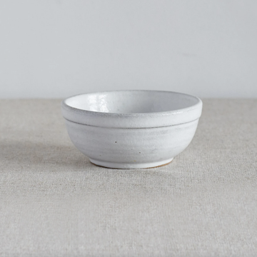 Cisco and The Sun Dewi Ceramic Rice Bowl Brushed White