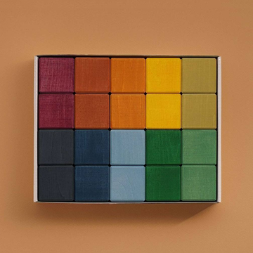 Earth Colours Cube Set