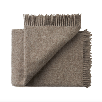 Nevis Throw Rug - Mouse