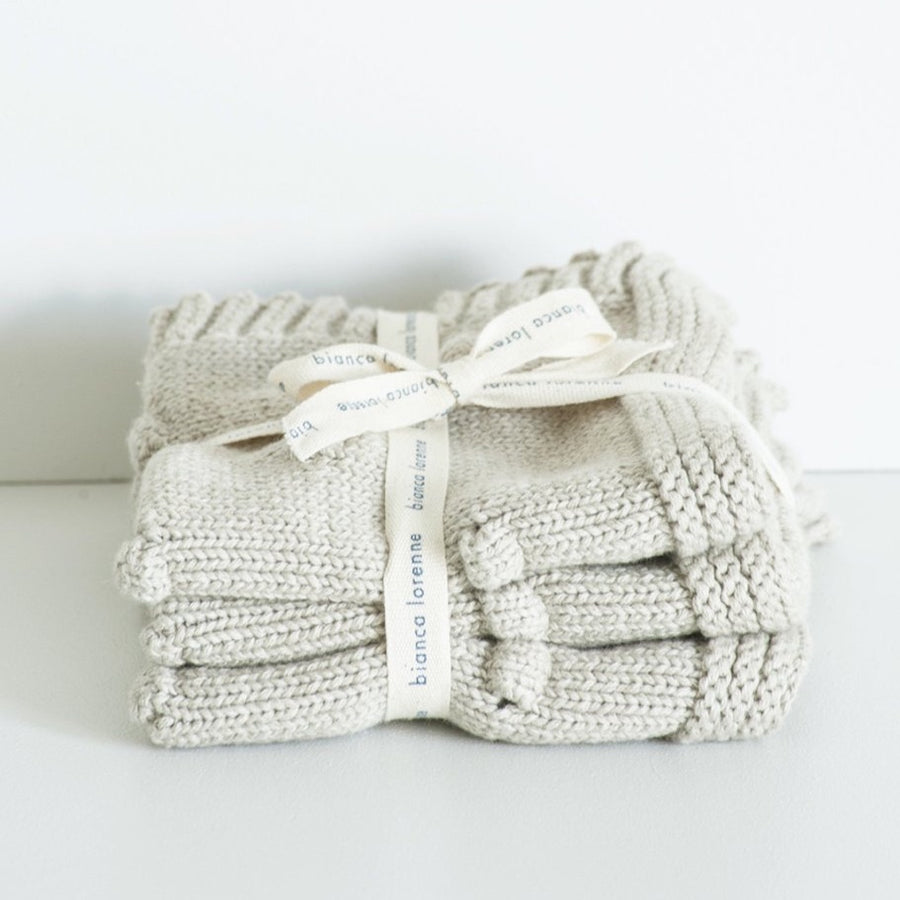 Oatmeal Washcloths - Set of Three