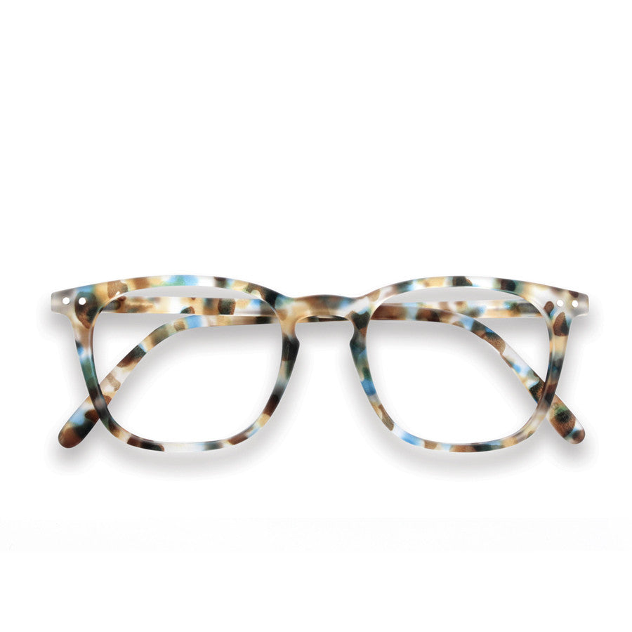 Reading glasses design E - blue tortoise