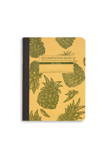 Decomposition Notebook Pineapple