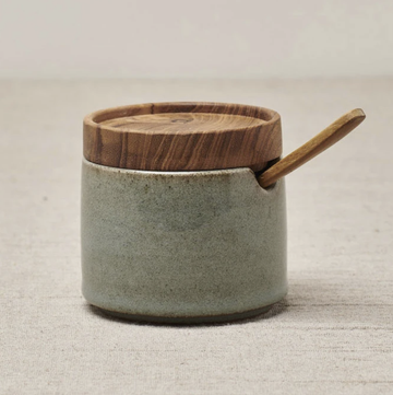 Ayu Sugar Bowl - Dove Green