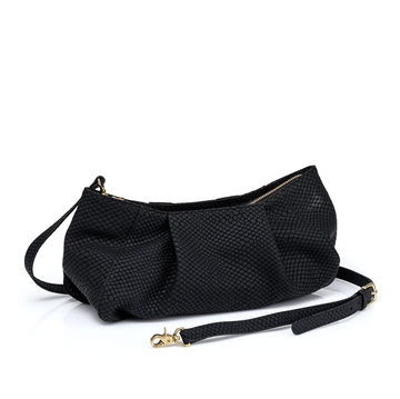 Penelope Bag - Black Pebble