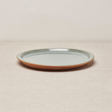 Wibi Dinner Plate - Natural Earth & Green