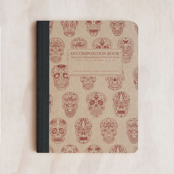 Decomposition Notebook- Sugar Skulls