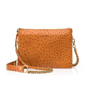 Everywhere Bag - Tan Ostrich