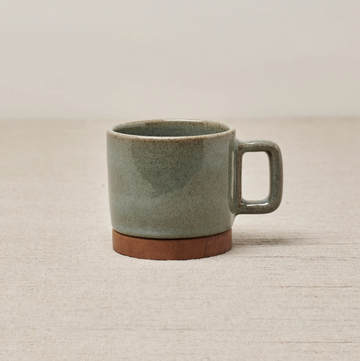 Rami Cup With Handle - Dove Green