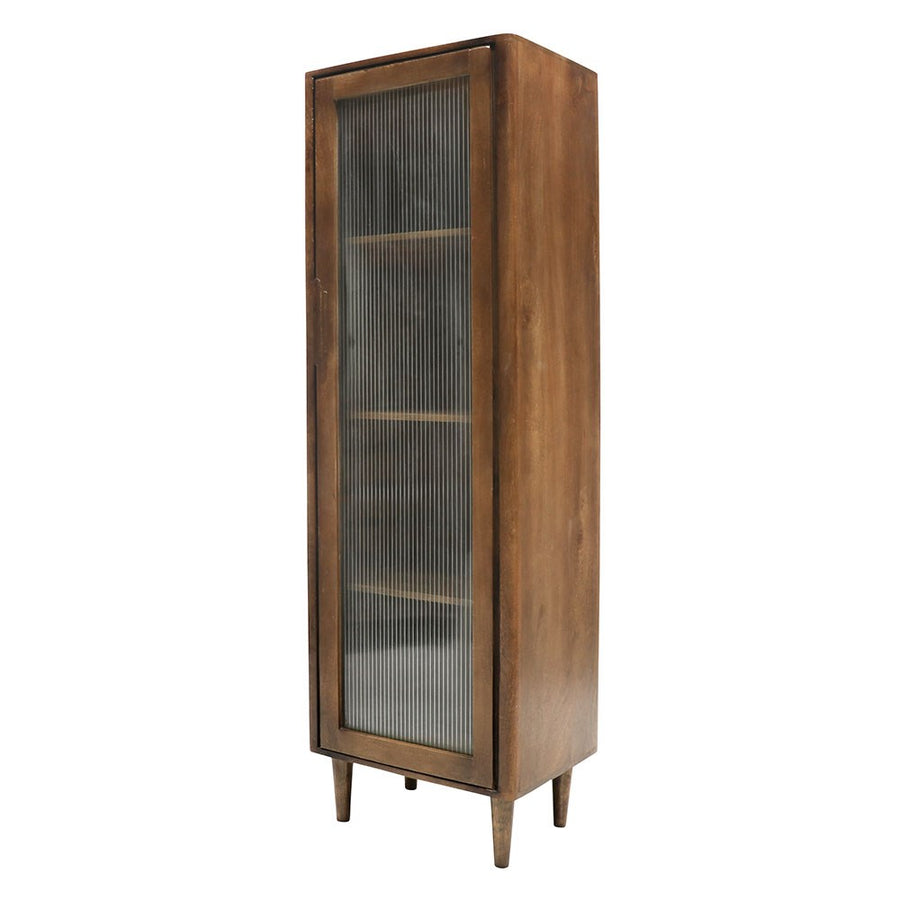 Taieri tall display cabinet side view