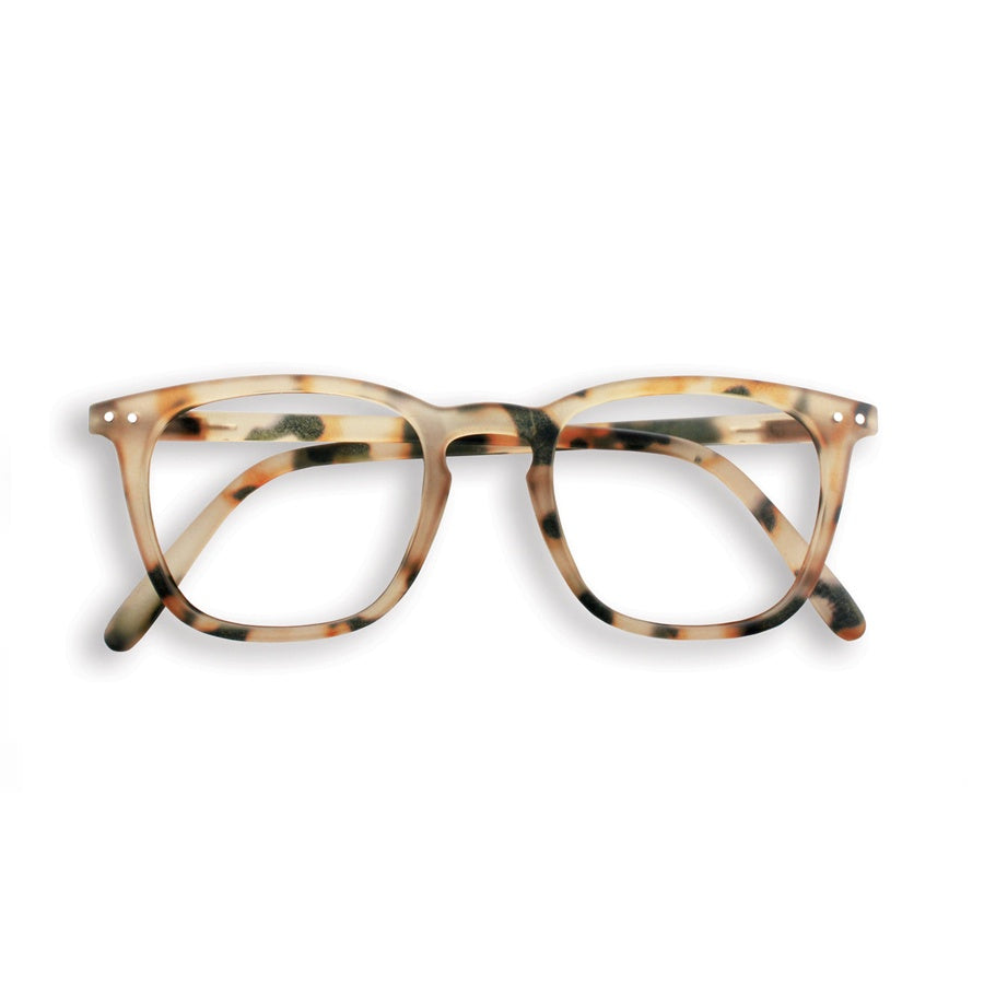 Reading Glasses Design E - Light Tort