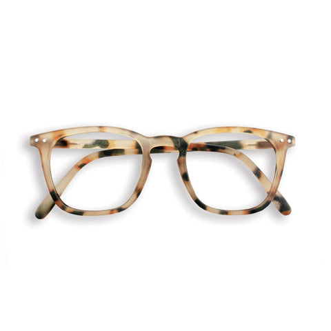 Reading Glasses Design E - Light Tortoise