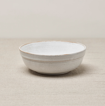 Muji Salad Bowl - Brushed White