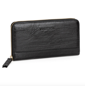 Pablo Wallet - Black Crackle