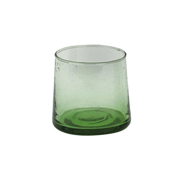Moroccan Coneshaped Glass - Green