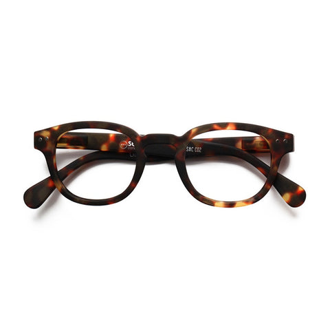 Reading glasses design C - tortoise