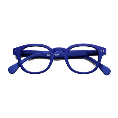 Reading Glasses Design C - Navy Blue