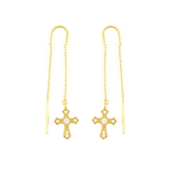 Star Cross Earrings